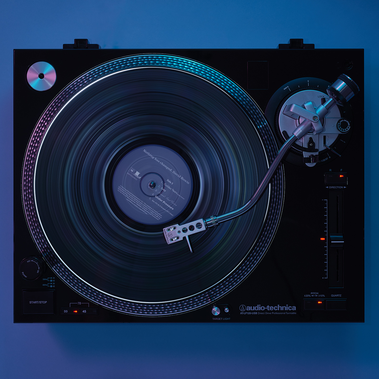 Audio Technica Turntable LP180 by Matthew Roharik Los Angeles Still Life and Product Photographer