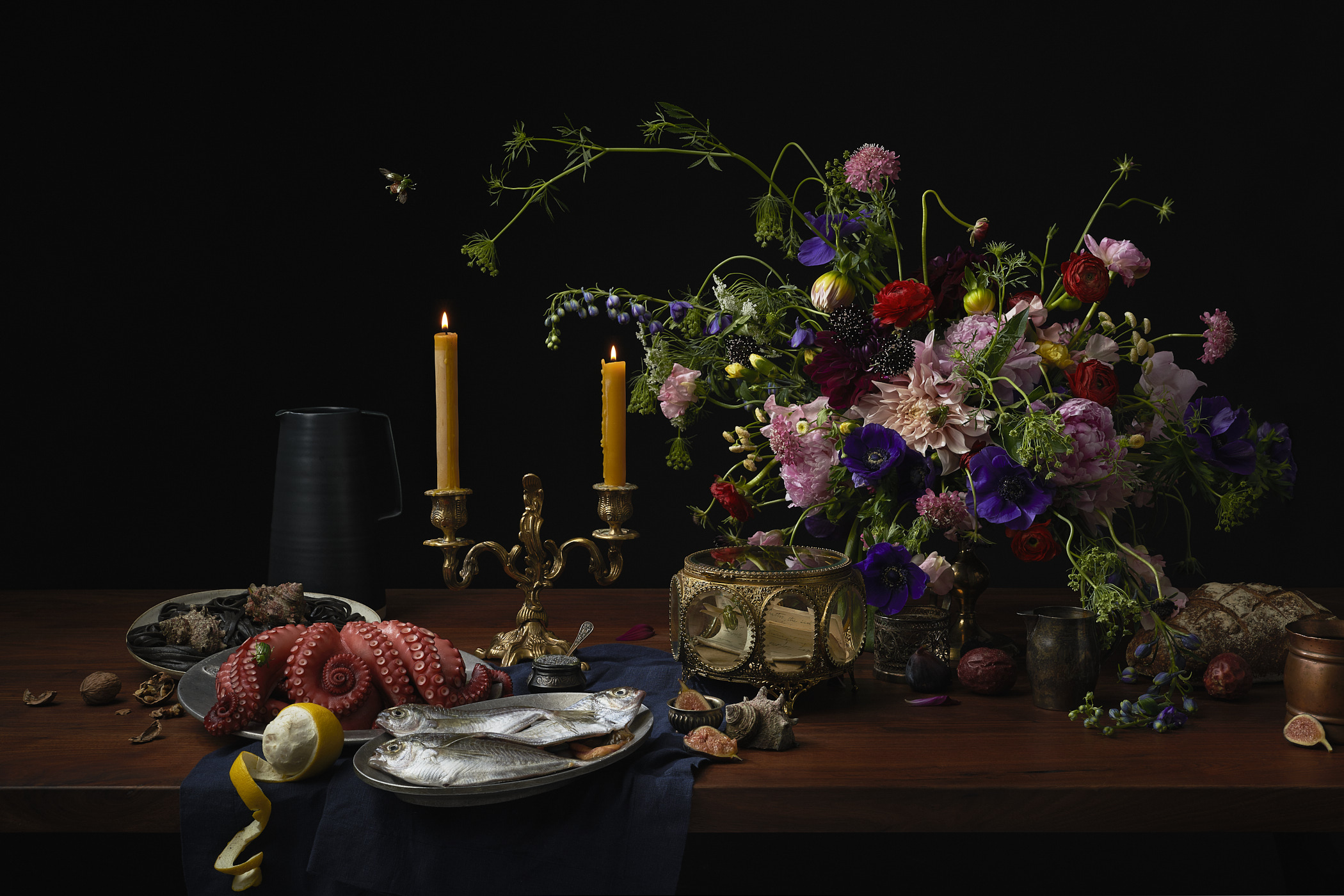 Flight of the Scarabs by Matthew Roharik Still Life Food Photographer Los Angeles