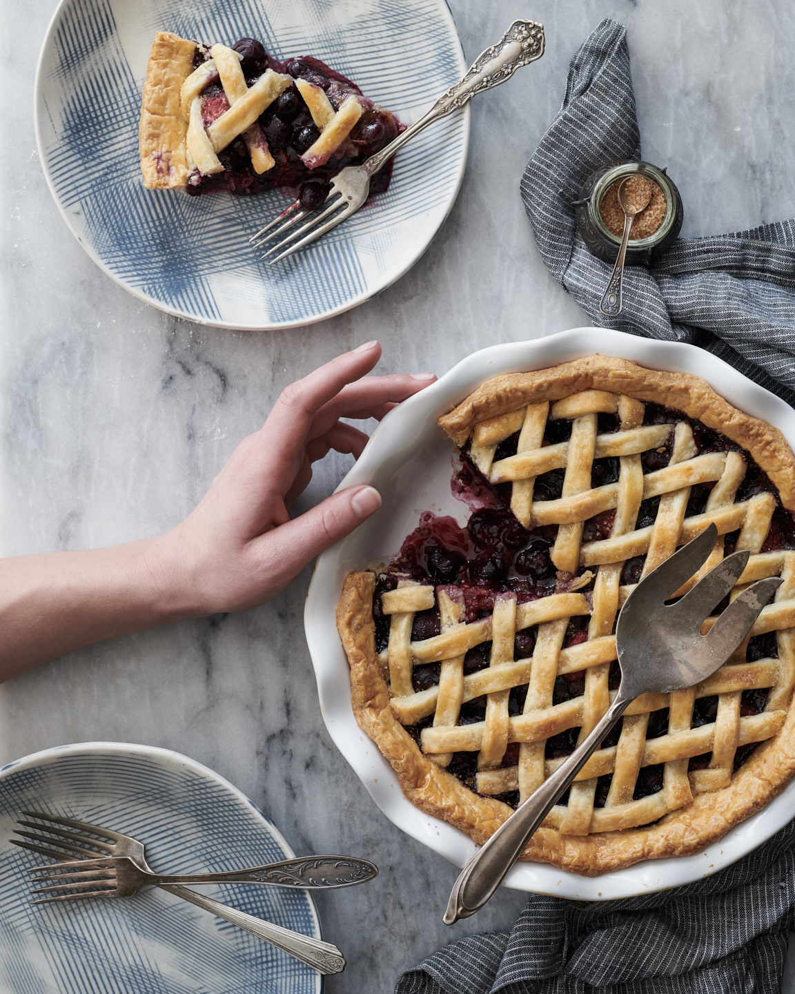Baked Pie by Matthew Roharik Editorial Food Photographer Los Angeles