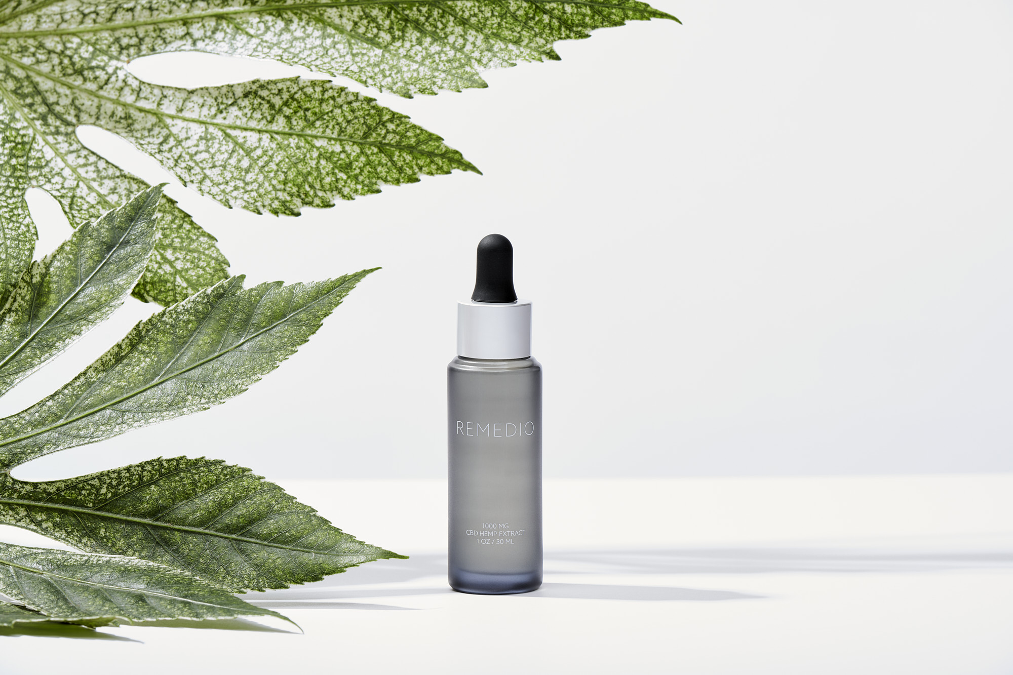 Remedio Wellness CBD Hemp Oil Product Photography by Matthew Roharik