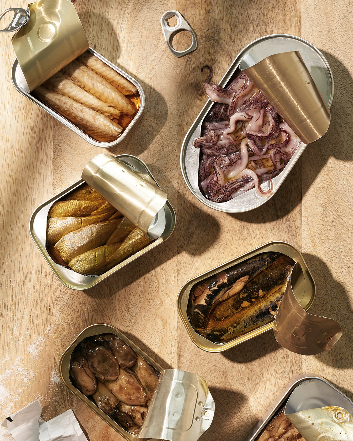 Canned Fish by Matthew Roharik Editorial Food  Photographer Los Angeles