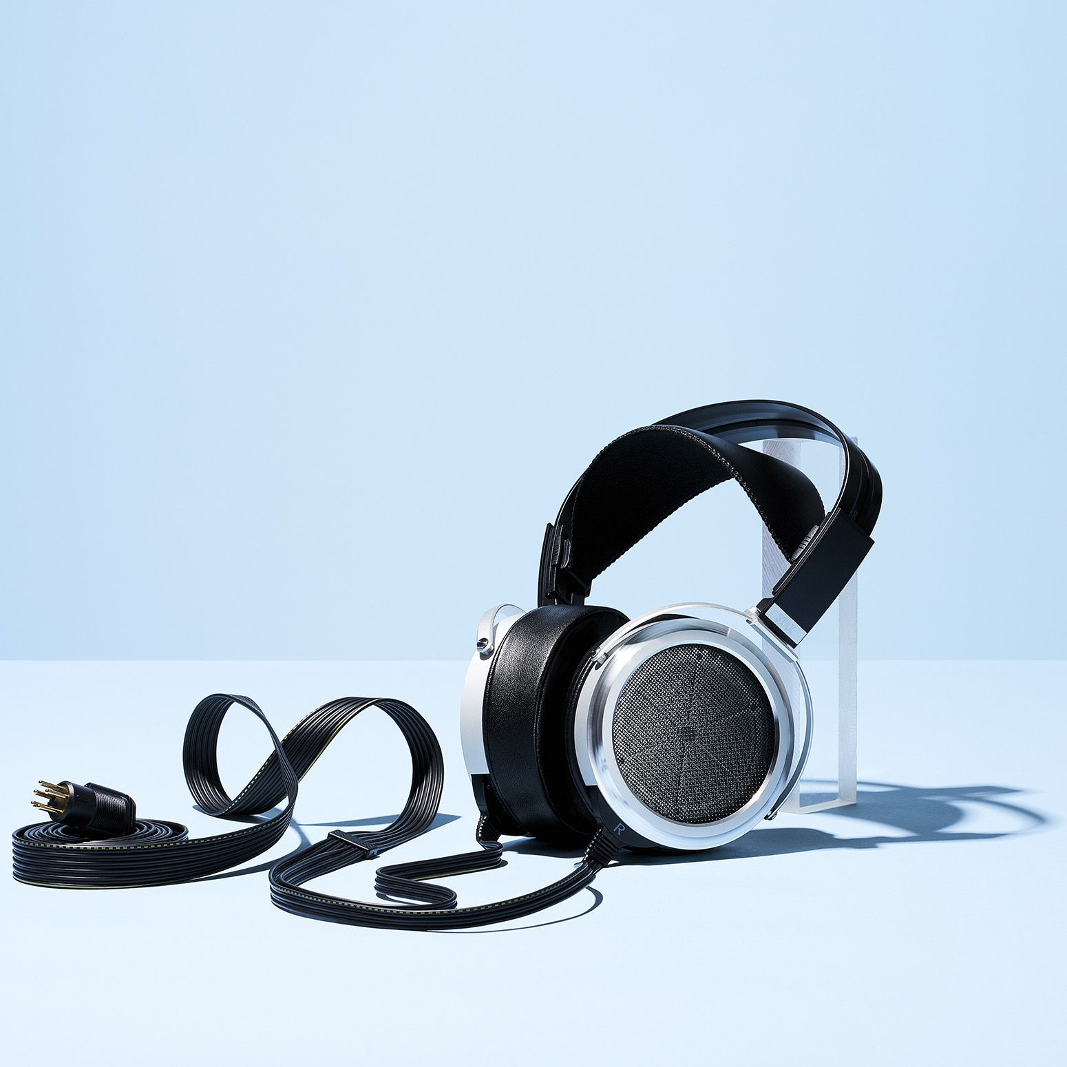Stax Headphones by  Matthew Roharik Los Angeles Still Life and Product Photographer