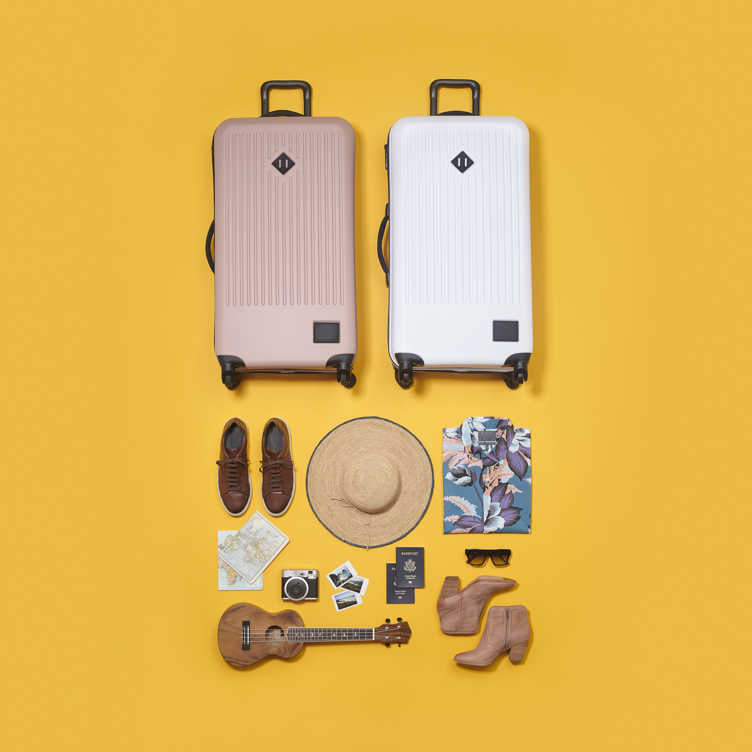 Knolling Vacation Getaway by  Matthew Roharik Los Angeles Still Life and Product Photographer